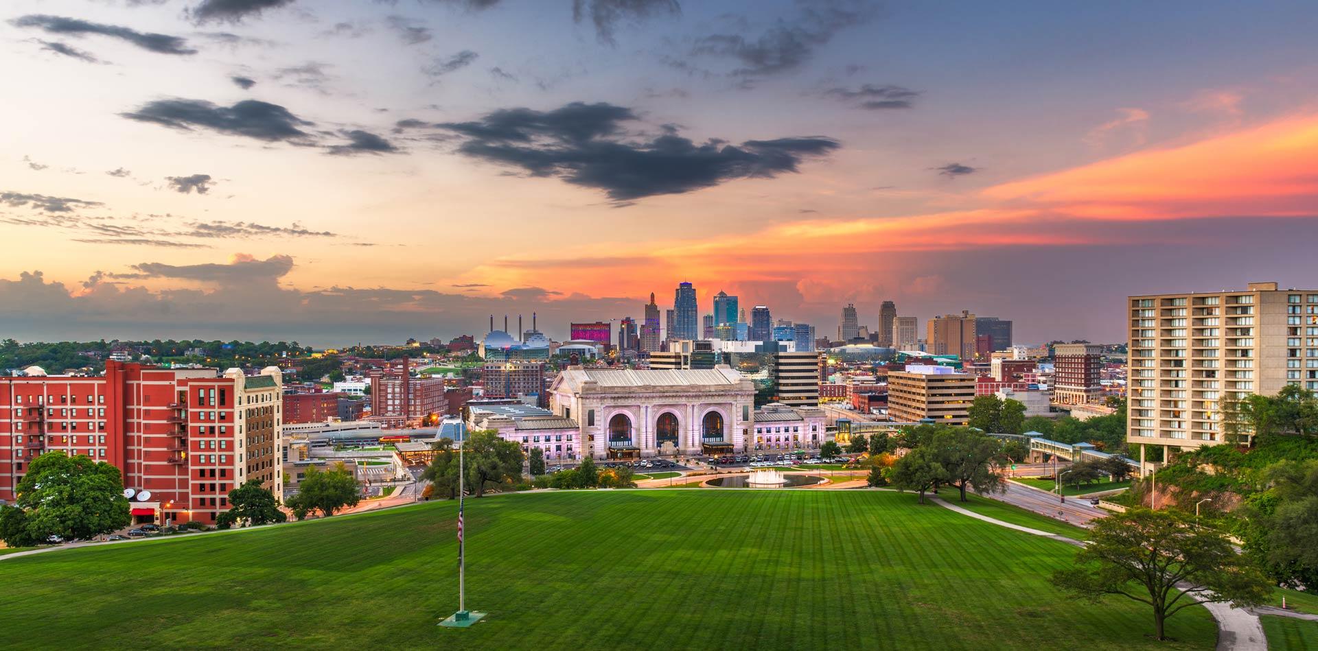 Kansas City aerial view - Southern Kansas Telephone Company